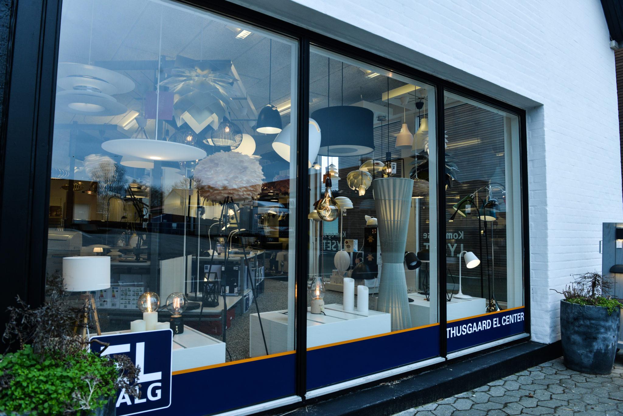 EL SALG butik lamper lysmesteren Struer Lemvig Thyholm Vinderup