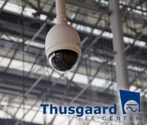 Videoovervågning med installation