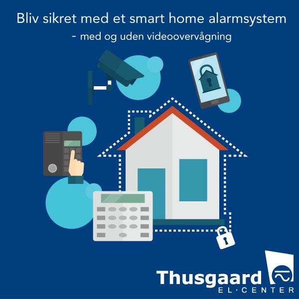 tyverialarm til private og virksomhed - alarm til hjemmet