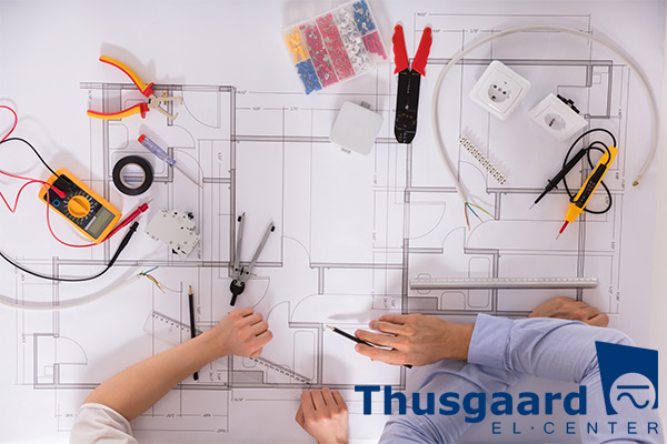 el-installatør Struer Lemvig Vinderup Hjerm Thyholm Thyborøn - el installation i nyt hus